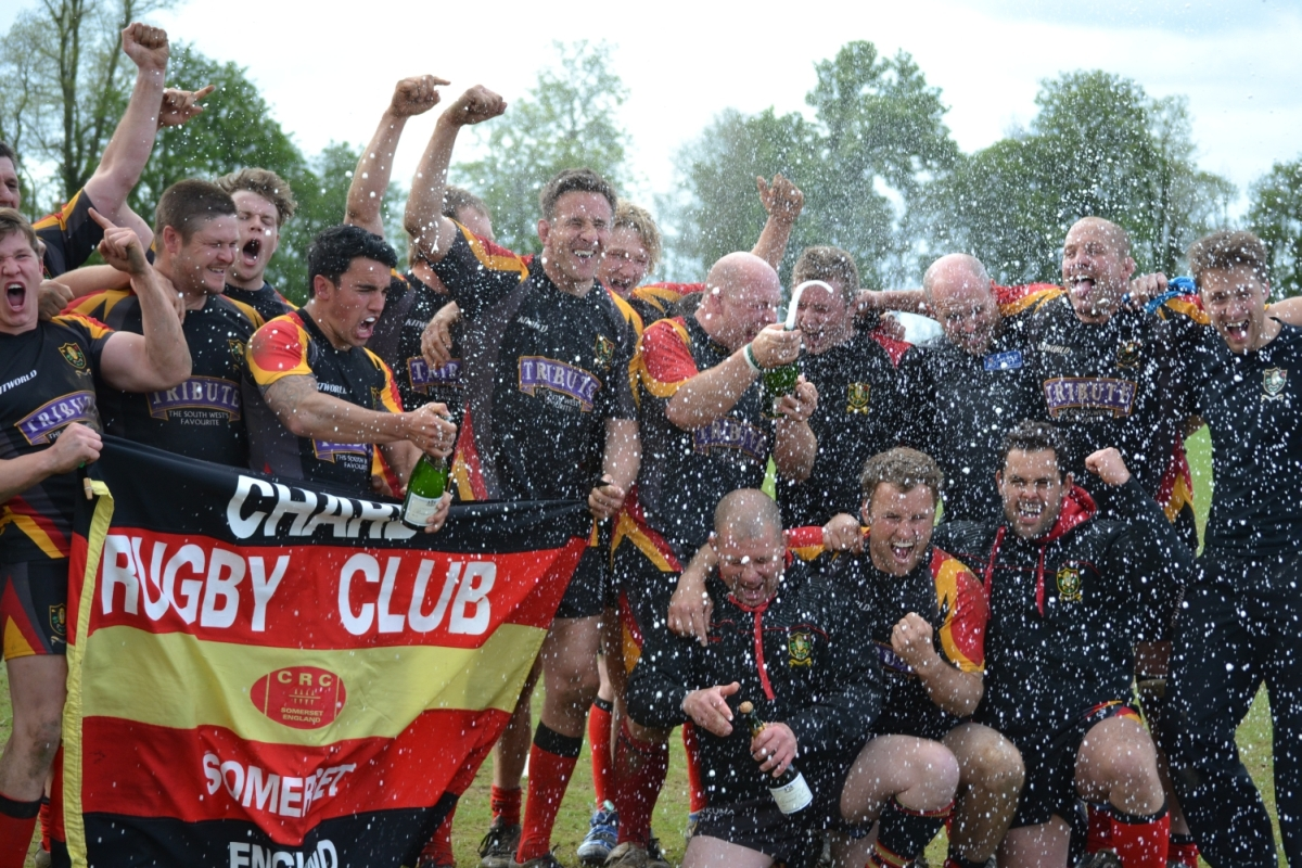 Chard Rugby Club chairman says promotion is boost for the whole town