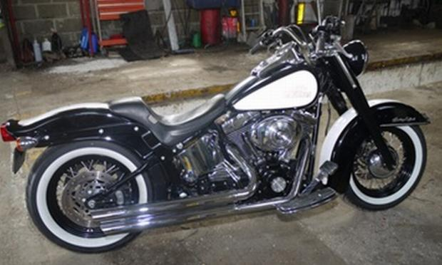 Can you help trace this customised Harley Davidson?