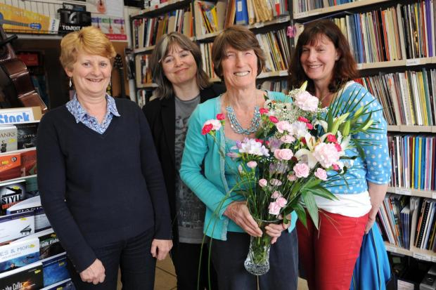 Shop owner Gillian Greig celebrates 40 years of Gillian Greig Music