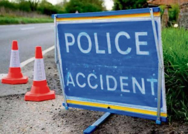 Accident on A38 near World's End pub