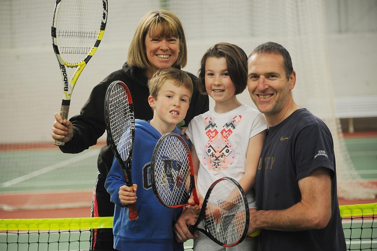 In pictures: Fun for all at Taunton Tennis Club family open day