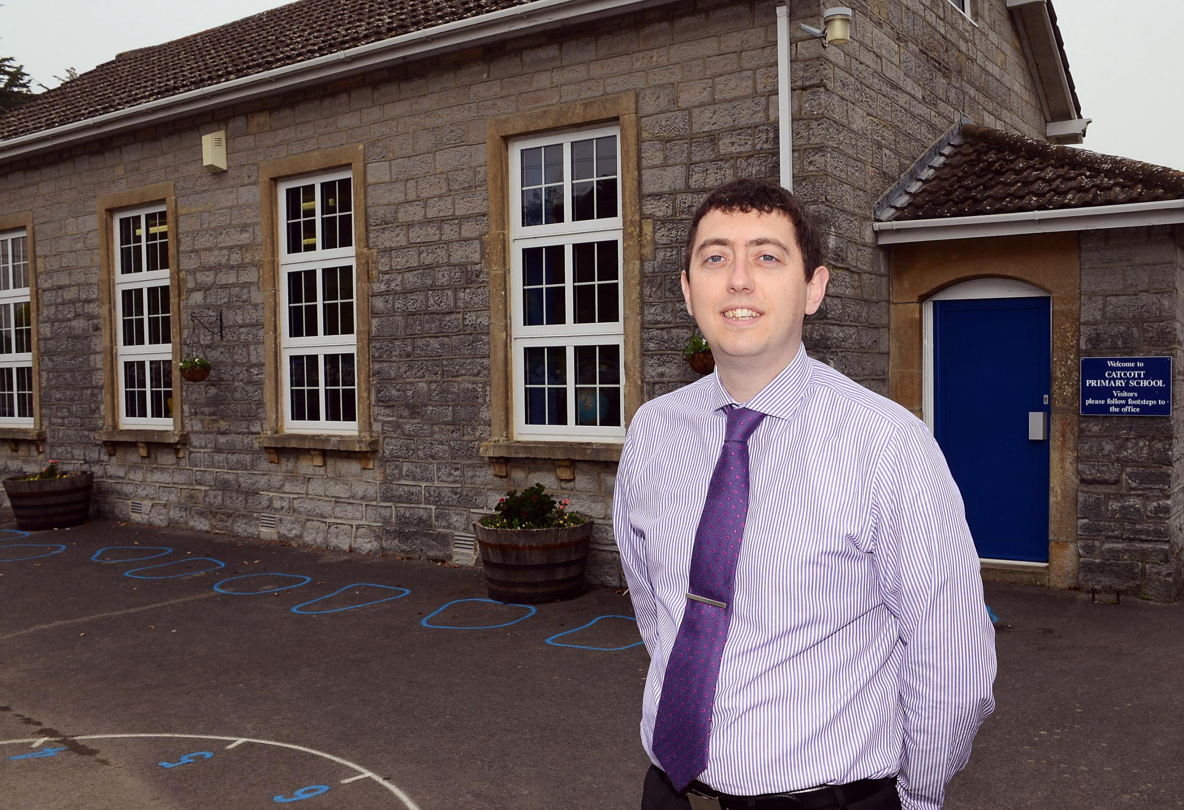 THE new head teacher of Catcott Primary School, Chris Axten-Higgs.