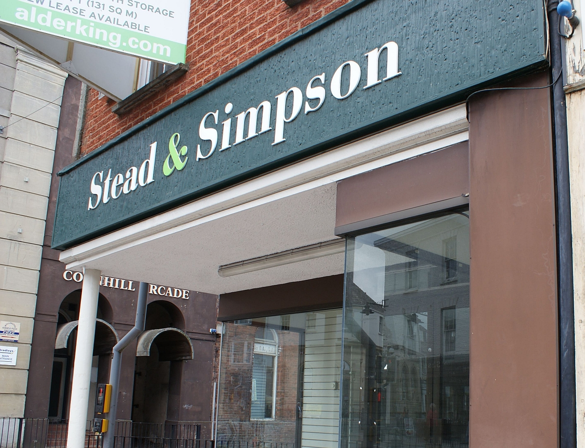 The Stead & Simpson store has stood empty for some time but it is thought a deal is close to being finalised.