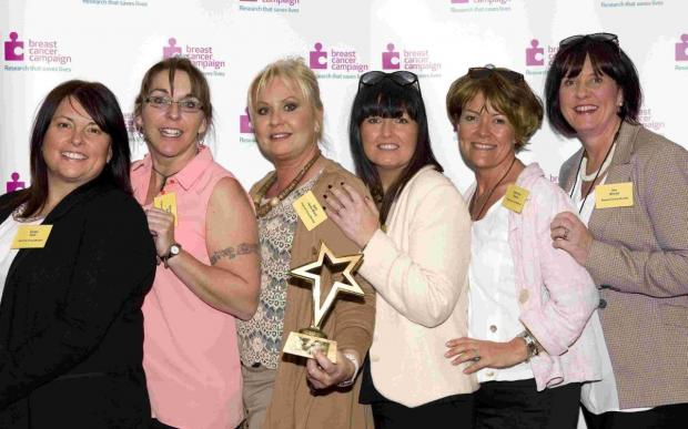 This is The West Country: Falmouth Pink Wig ladies tickled pink with national award