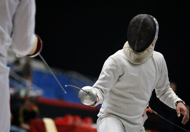 FENCING: Jessica successfully defends her British title