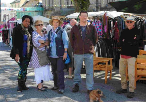 Lifeline offered to market traders on Falmouth's Moor