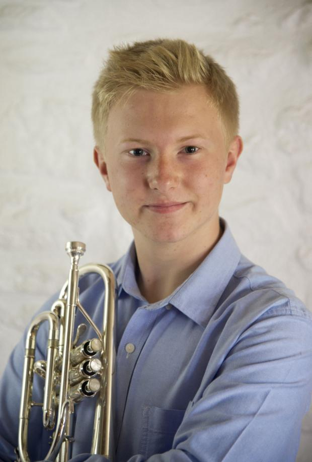 This is The West Country: Helston teenager blows his own trumpet