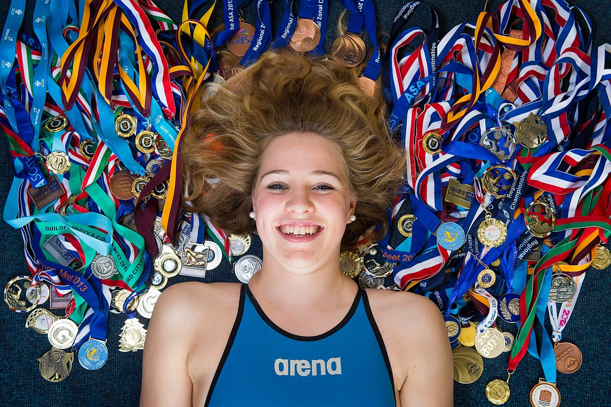 SWIMMING: Queen's College student hungry for more success