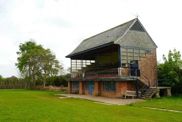The pavilion at the Rec in Wiveliscombe.