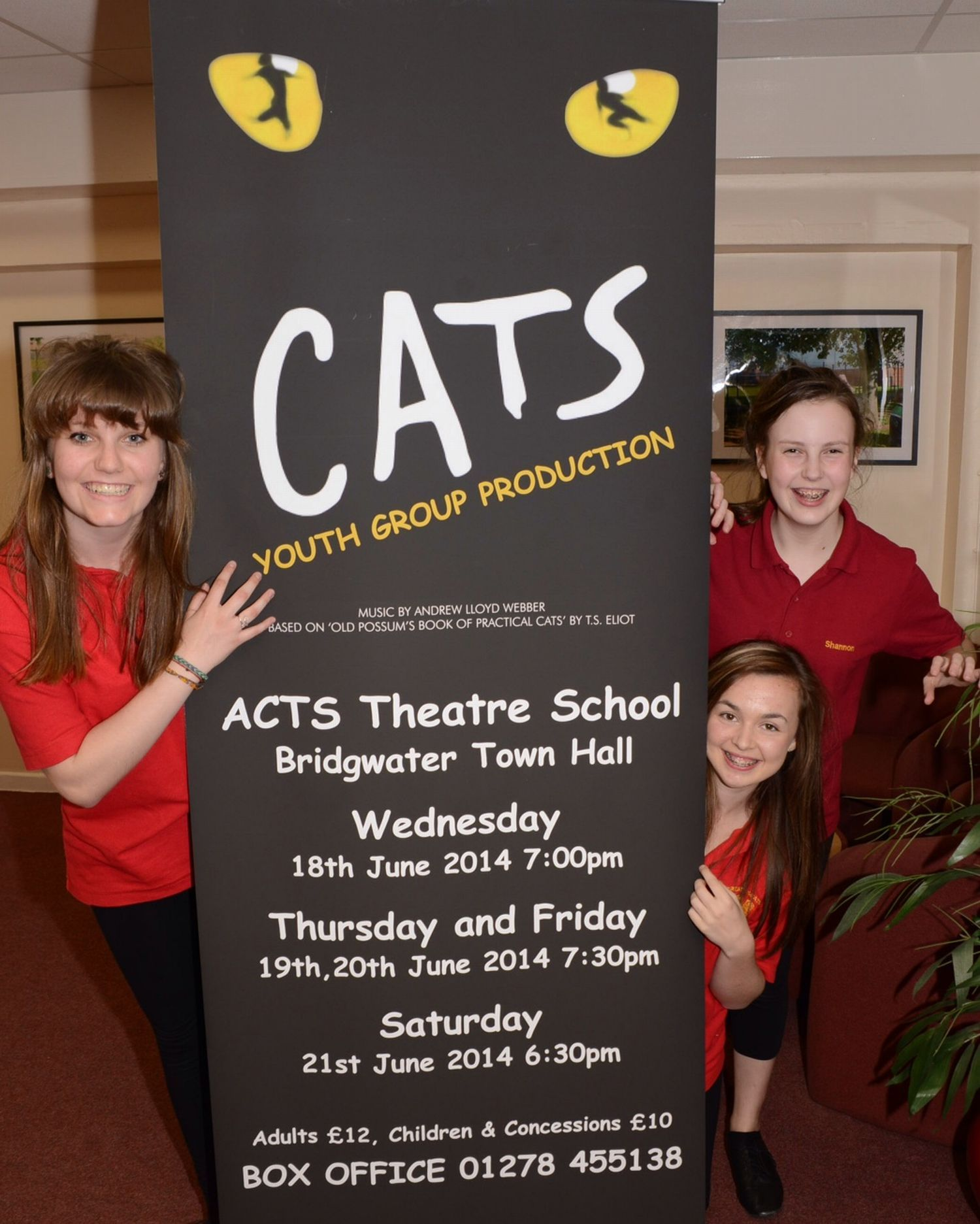 ACTS prepare to stage CATS performance in Bridgwater