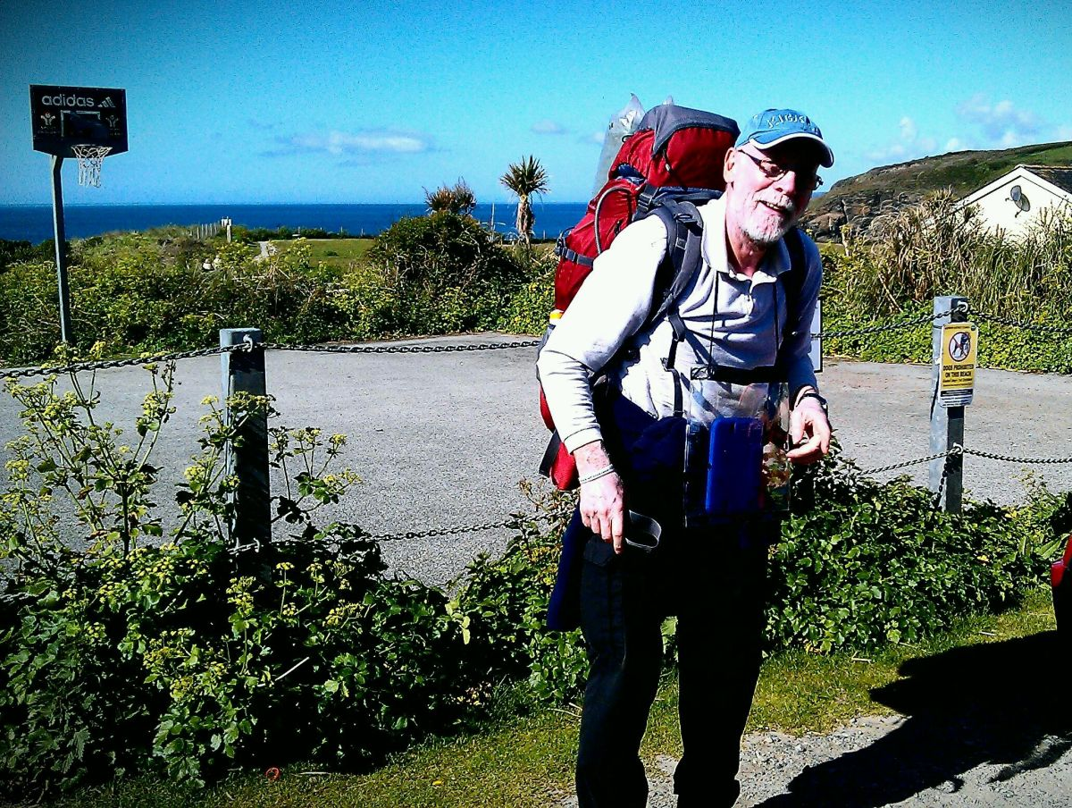 GRANDFATHER John Boniface is walking 630 miles to raise money for a charity which supports his granddaughter. Photo: Submitted.
