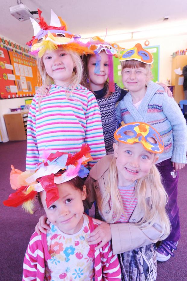 This is The West Country: 'Art Attack' at Tidcombe Primary School