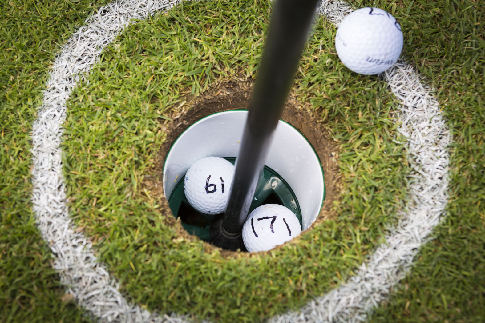 GOLF: Hole-in-one for Murray