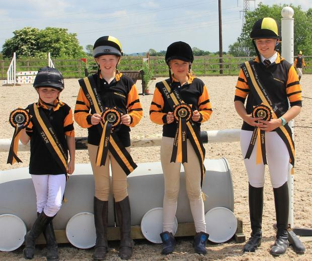 HORSE RIDING: Queen's College riders rise to the challenge