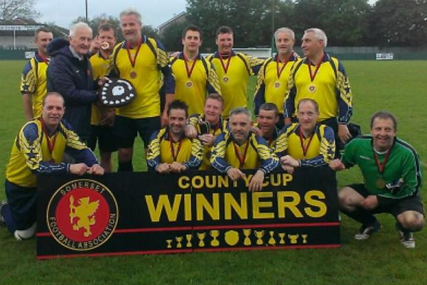 FOOTBALL: Veterans claim Somerset title