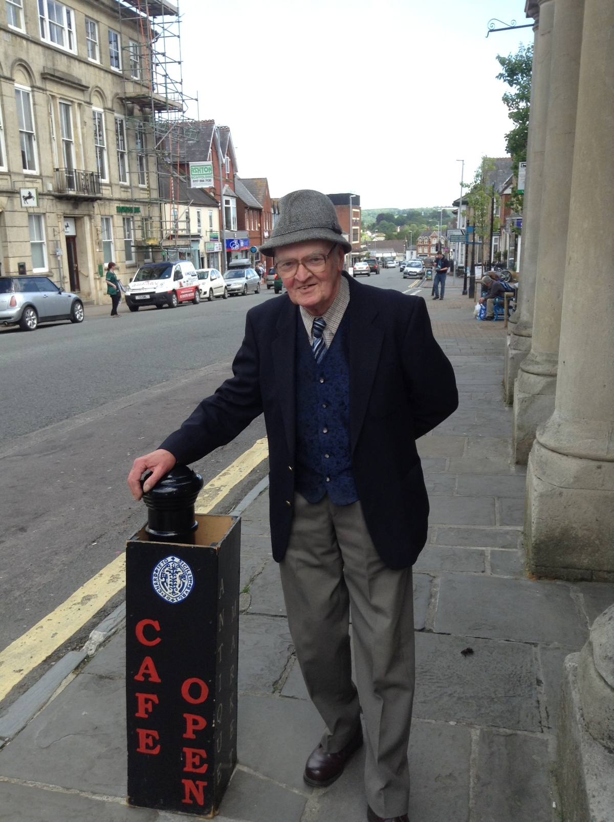 D-day celebrations in Chard and Ilminster