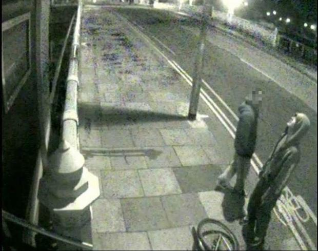 CCTV image of man police want to interview following damage outside Taunton's Okoko nightclub