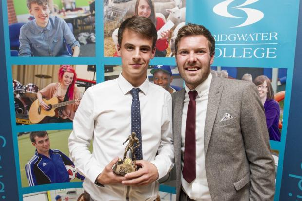 Yeovil teenager scoops college football award