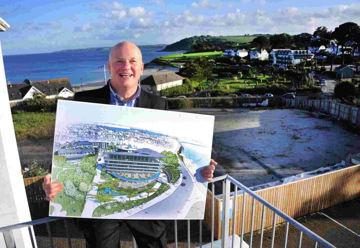 Huge resort plans for fire ravaged Falmouth Beach Hotel site unveiled: DETAILS
