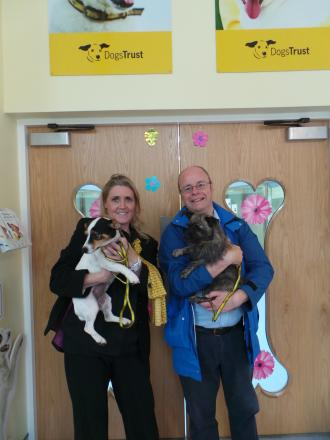General election candidate visits Dogs Trust Ilfracombe