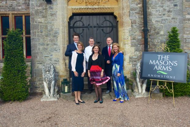 'Pop-up' experience a hit at Huntsham Court