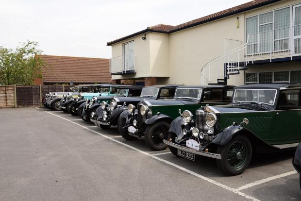 Rolls Royce enthusiasts descend on North Petherton