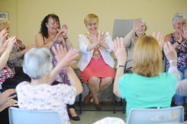 Carers Week in Chard proves a hit