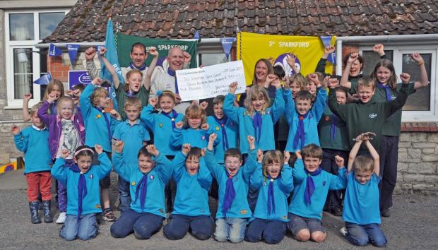 Scout group ion Sparkford helped by law firm