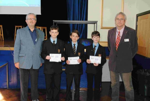 Helston College young writers win Rotary competition