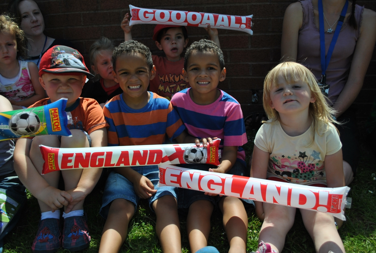 PICTURES: Avishayes School World Cup day