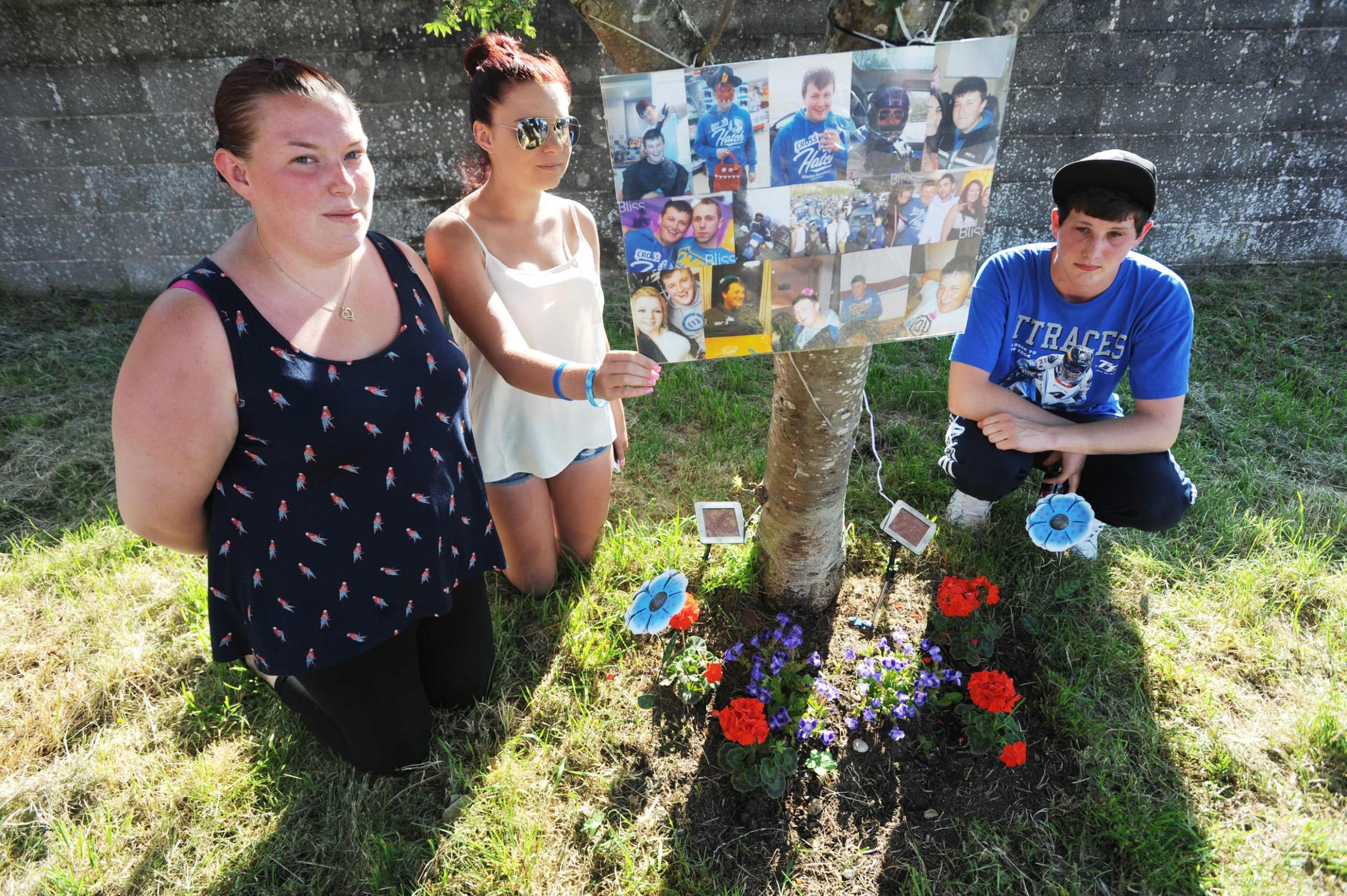 Jamie Fortune family and friends distraught at memorial thefts in Taunton