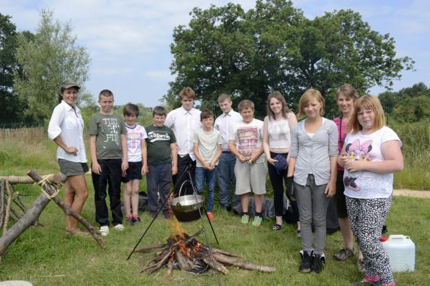 This is The West Country: FEATURE: Bush Craft proves a hit for Robert Blake students