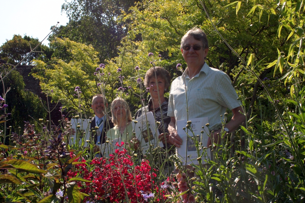 Judging underway for Exeter's Britain in Bloom bid