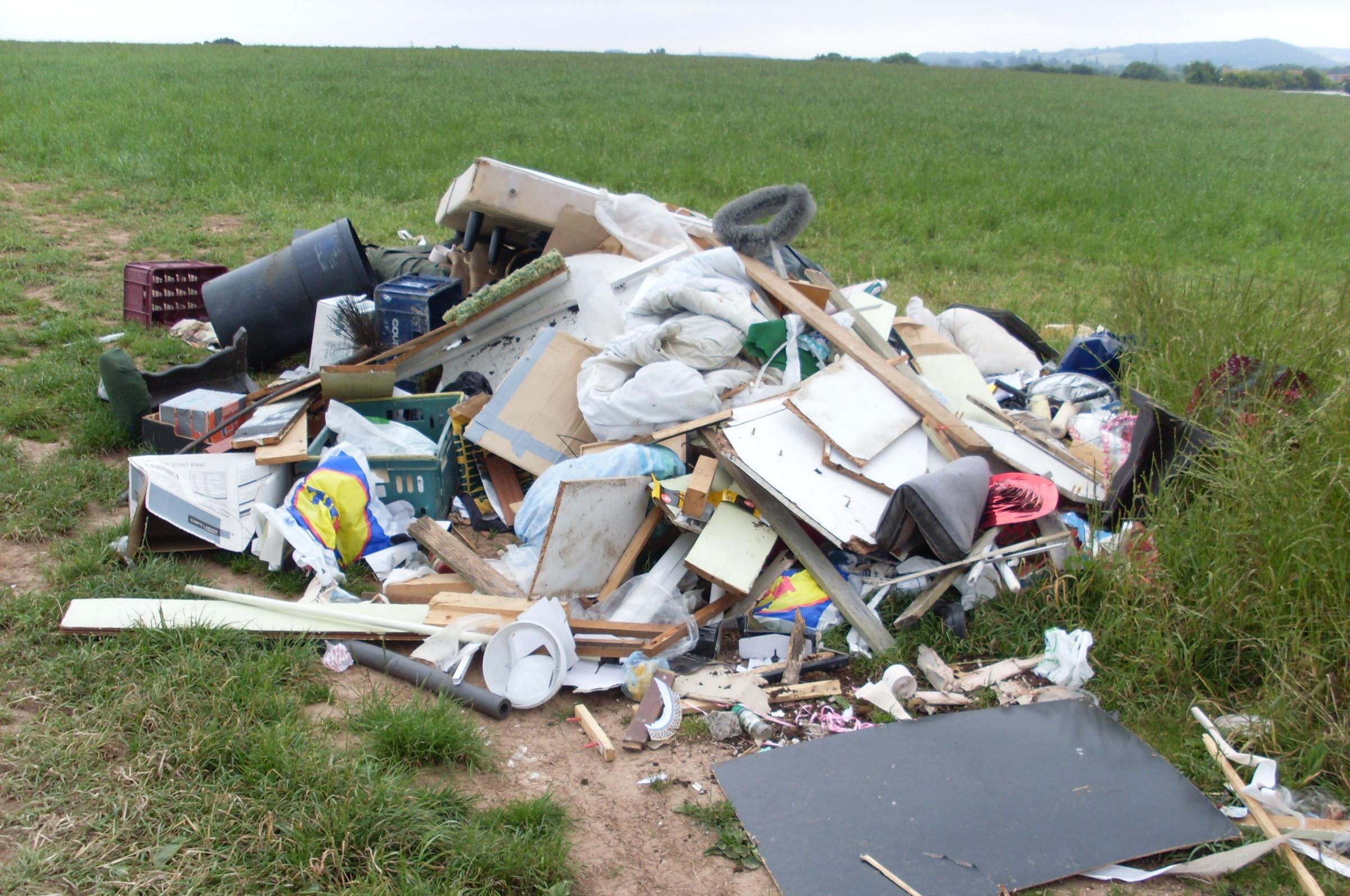 Courts adopt new guidelines for fly-tipping