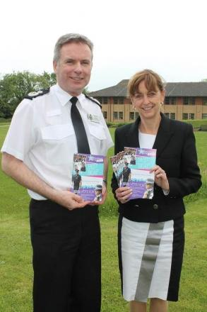 Acting Chief Constable John Long and PCC Sue Mountstevens launch the awards.