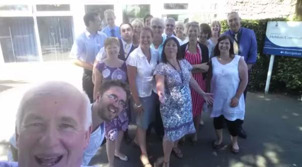 Helston Community College teachers do Glee in surprise end of year video