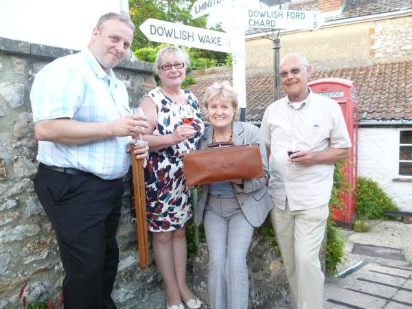This is The West Country: Wine and cheese event raises £260 for Chard Museum