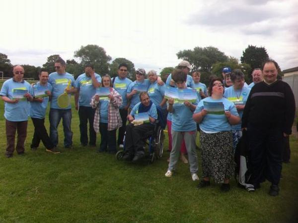 This is The West Country: MONDAY Club members taking part in the Community Games