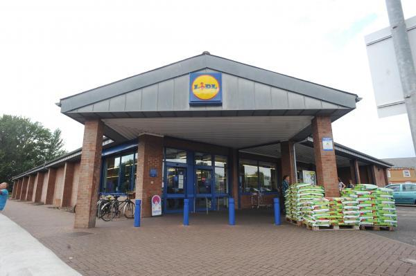 This is The West Country: The current Lidl store Off Wood Street, Taunton.