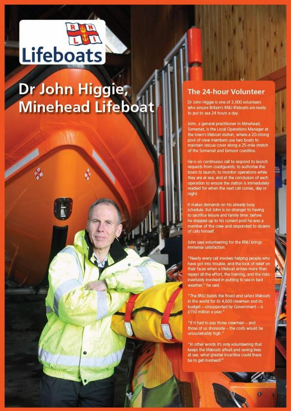 DR John Higgie from Minehead has been recognised by the British Medical Association for his voluntary work. PHOTO: Submitted.