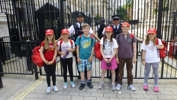 Shepton Beauchamp youngsters visit London