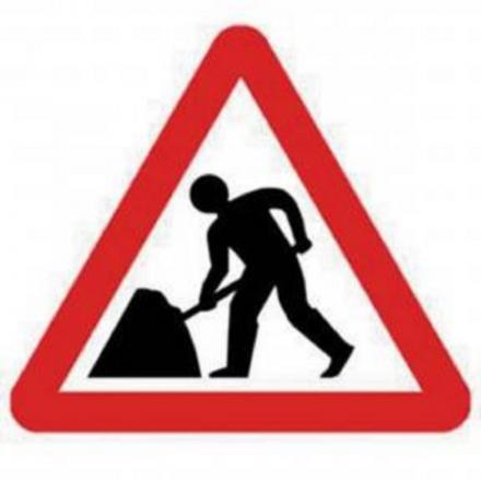 ROADWORKS will begin shortly near Burnham.