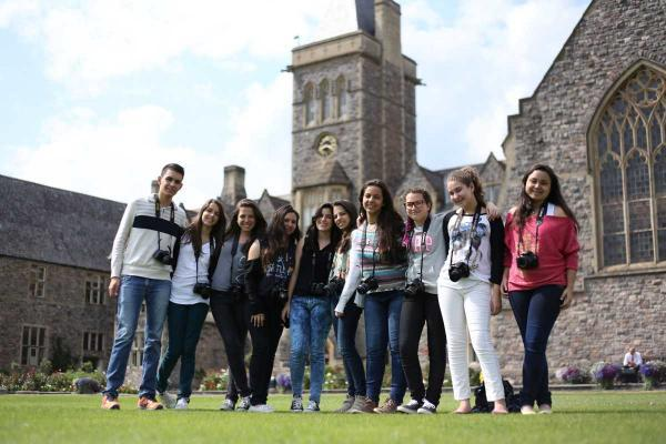 Brazilian students leave behind Fifa World Cup - to learn about cricket in Taunton