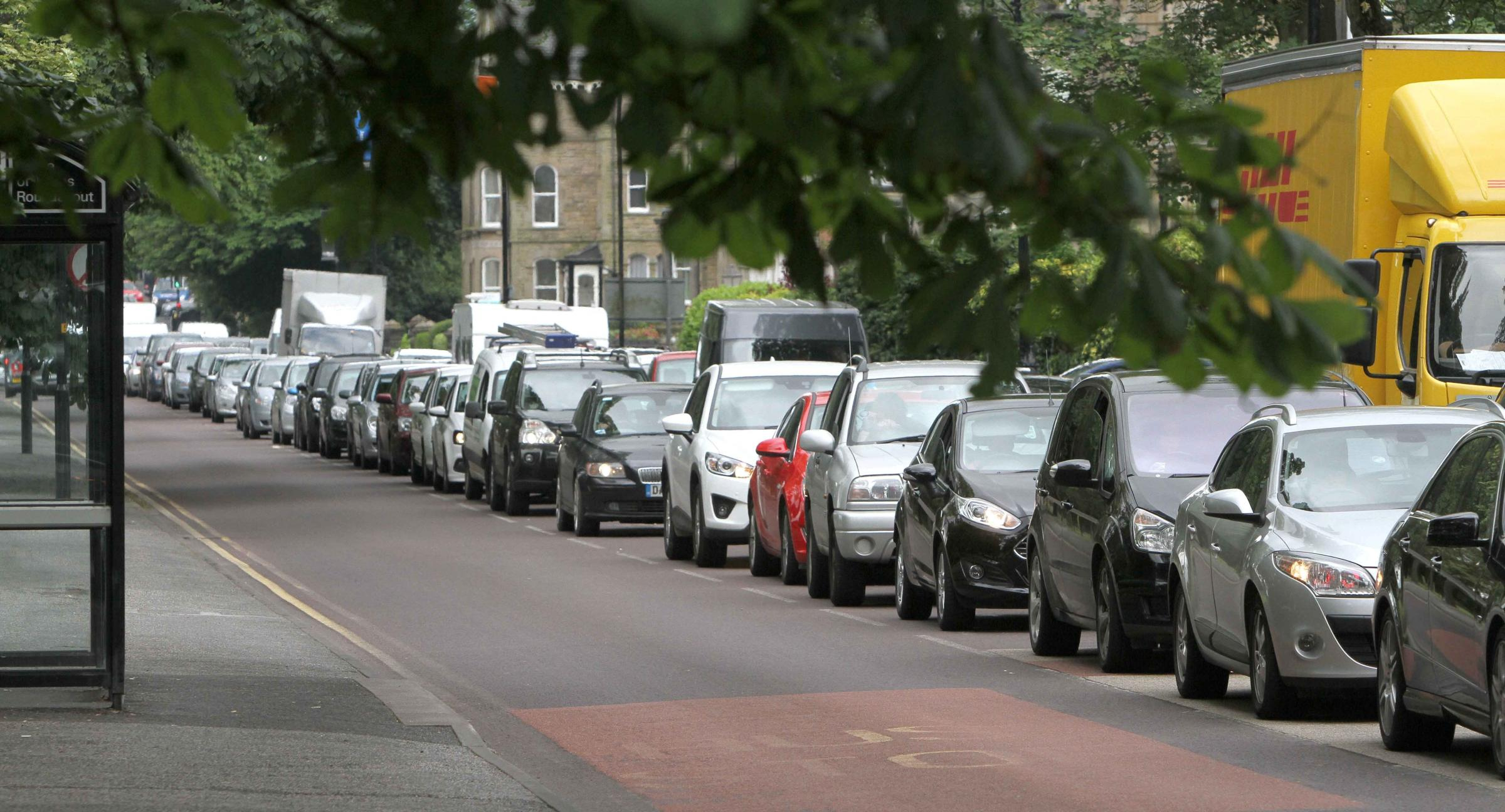 Are you stuck in traffic queue on the A358 between Henlade and Taunton?