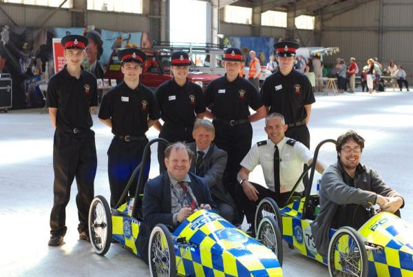 People with learning disability meet emergency services at Blue Light Day