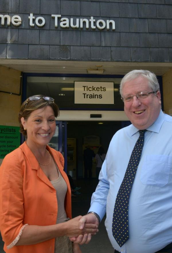 Taunton Station improvement plan gets £4.6million Government cash