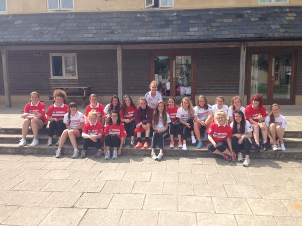 Paralympic swimmer visit Chilton Cantelo School