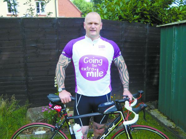 Bridgwater policeman takes on ANOTHER fundraising challenge