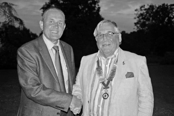 This is The West Country: Rotary club presidency handover