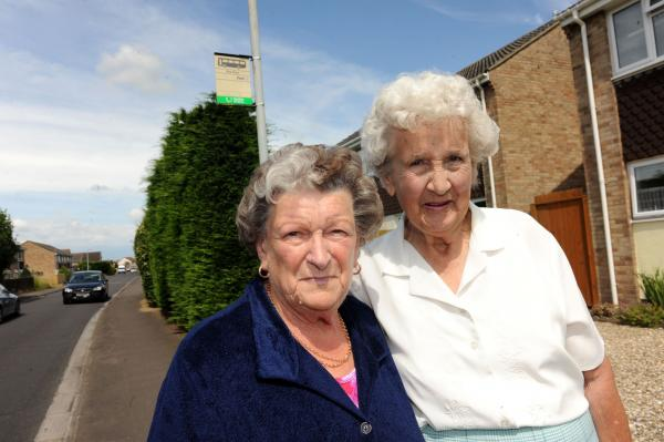 Bridgwater pensioners hit out at bus company